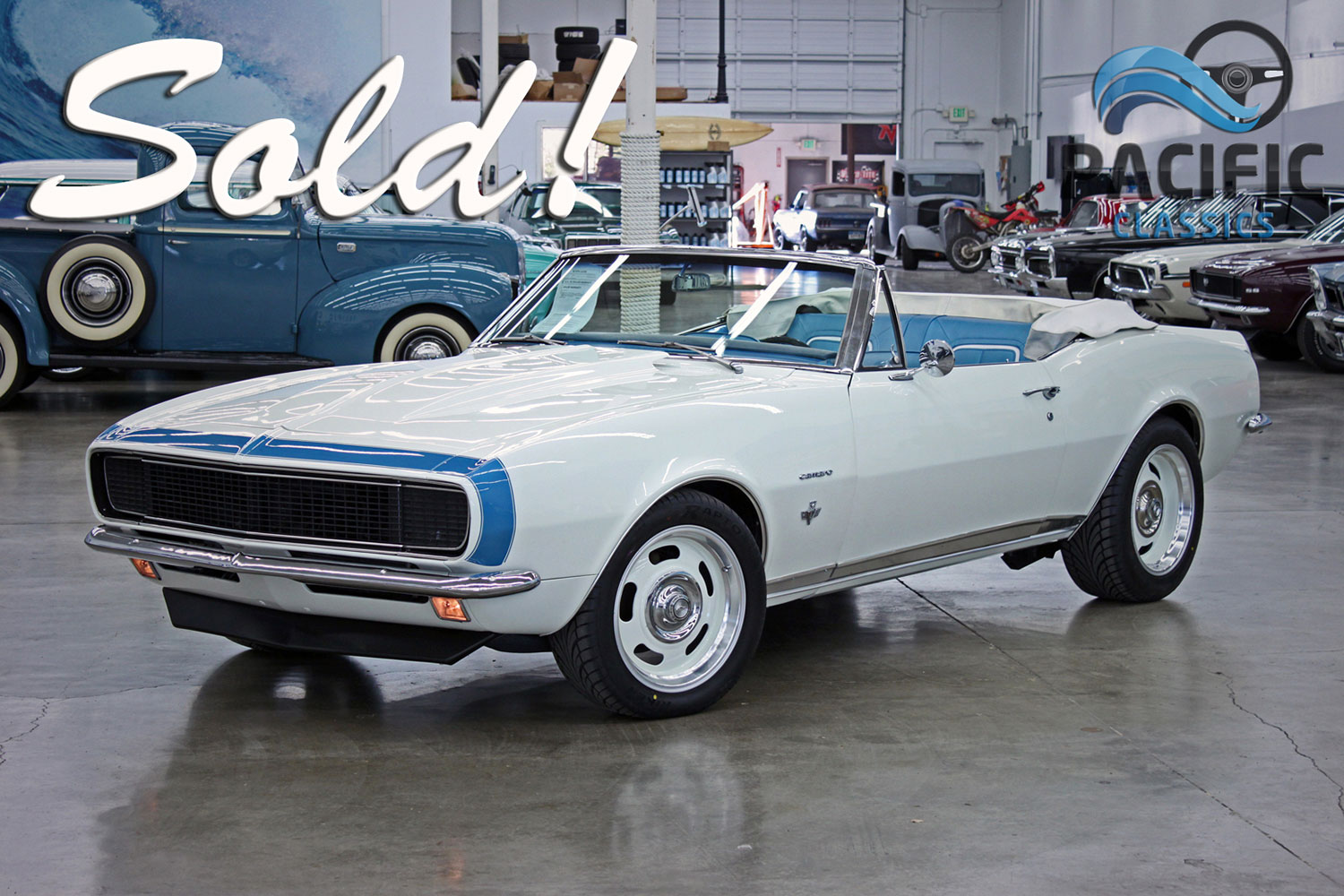 1967 Chevrolet RS Camaro Convertible