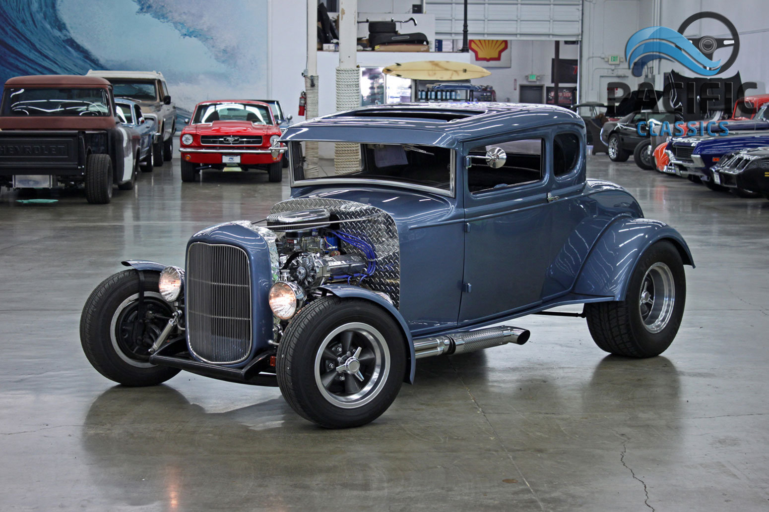 1931 ford coupe pacific classics. Black Bedroom Furniture Sets. Home Design Ideas