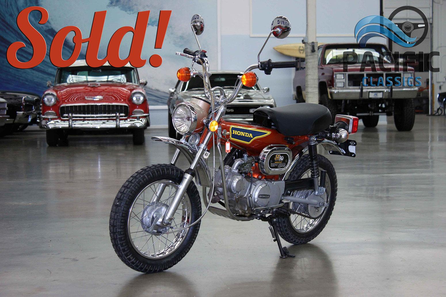 1975 Honda ST90